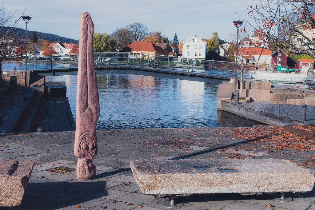 Skulpturkunst-bratsberg brygge-porsgrunn