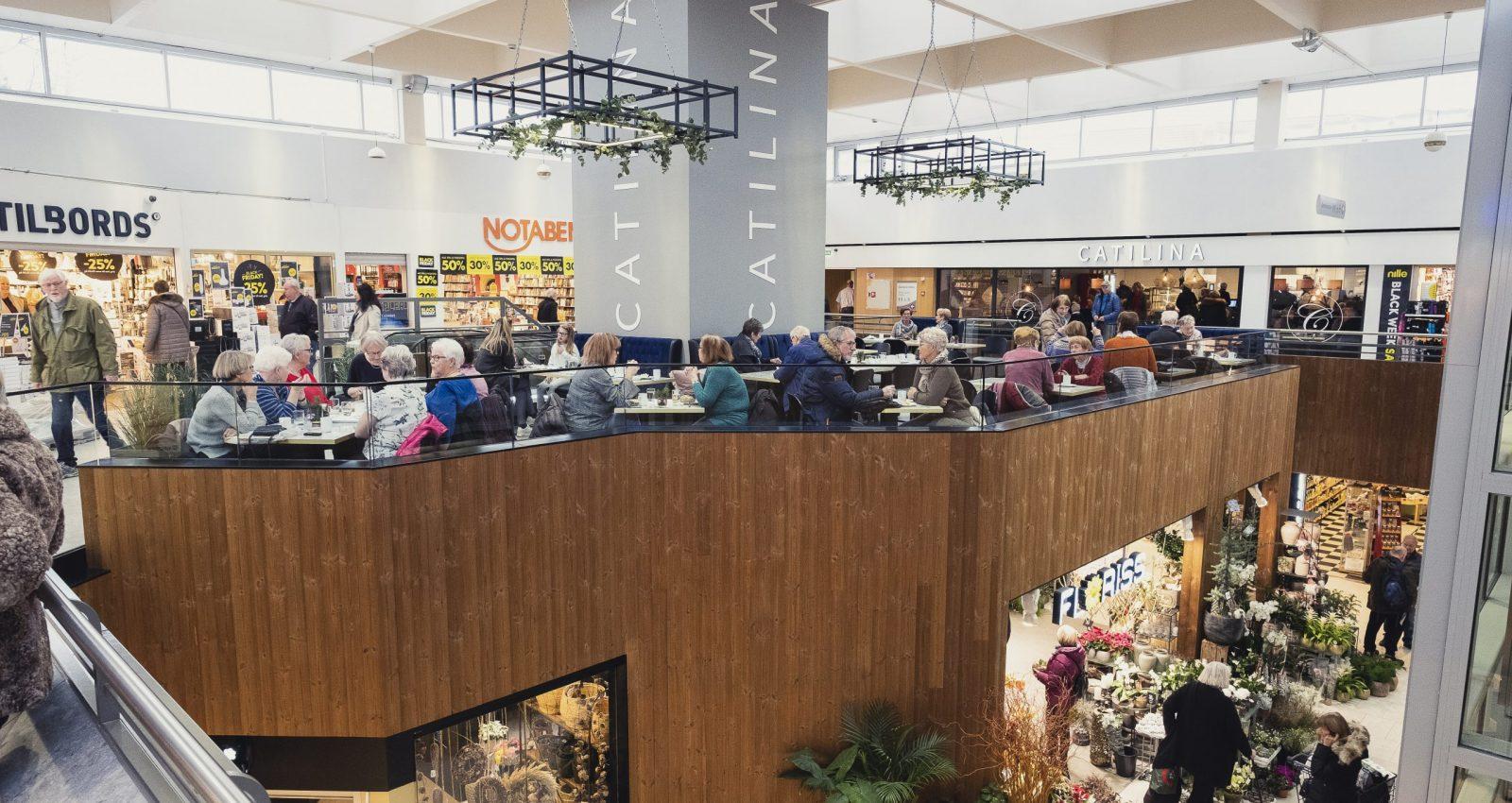 Bilde innsiden av Lietovet Kjøpesenteret