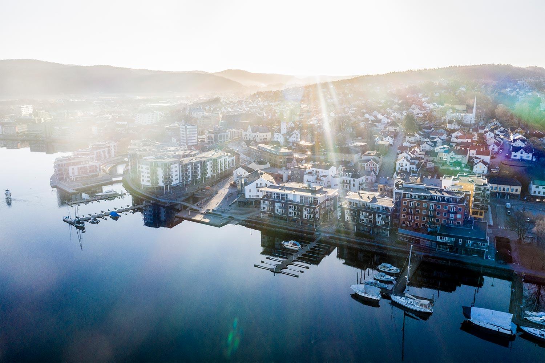 Bratsberg Brygge og ØYA i Porsgrunn